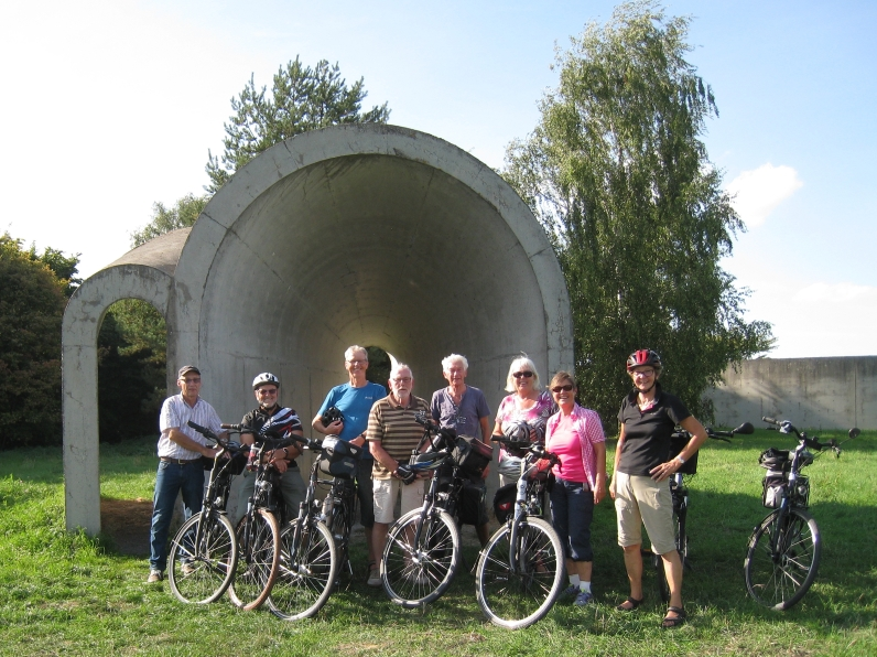 Unsere Fahrradgruppe